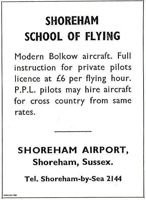 Shoreham School Of Flying