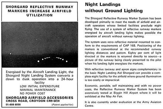 Shorgard Reflective Runway Marker System 1969