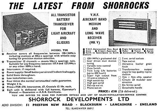 Shorrock Developments - VHF Radio Transmitter Receivers