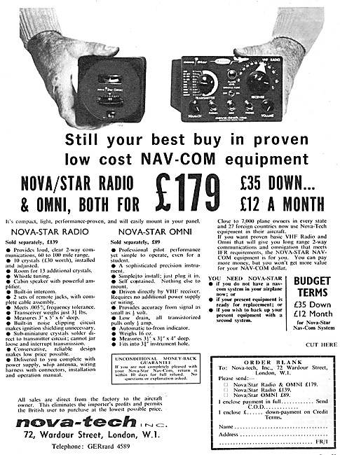 Shorrock Developments - Nova-Tech Nova-Star Radio