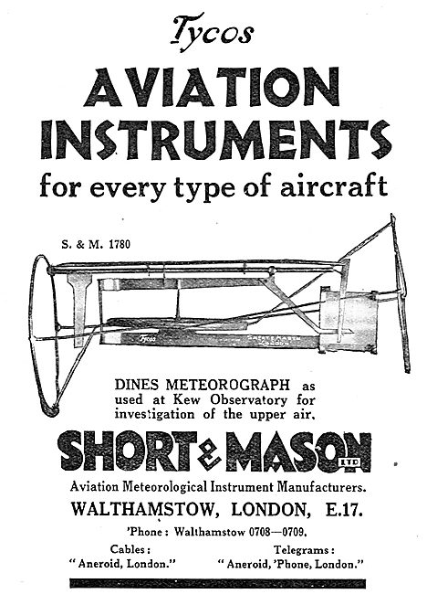 Short and Mason Dines Meteorograph