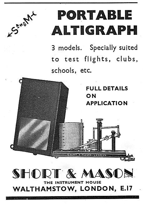 Short and Mason Portable Altigraph