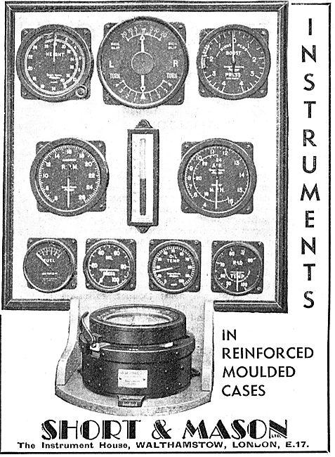 Short and Mason Aircraft Instruments