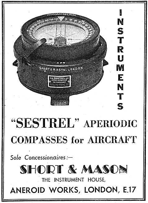 Short and Mason Sestrel Aperiodic Compass