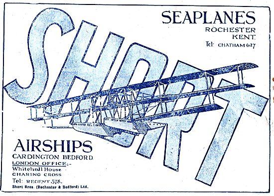 Short Seaplanes - Rochester Kent
