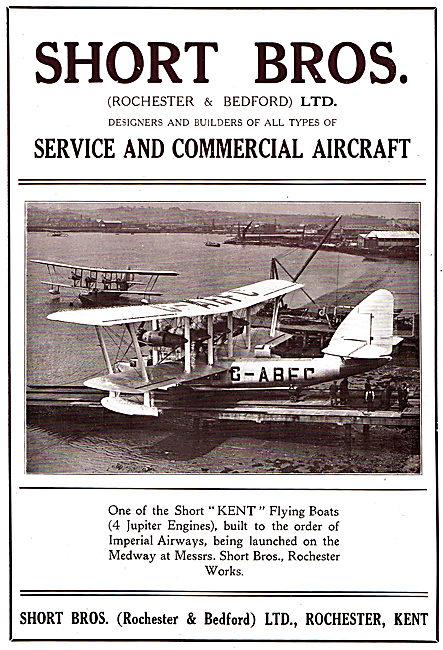 Short Kent Flying Boat