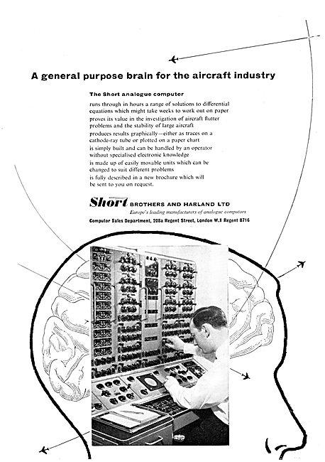 Short Brothers & Harland Aircraft - The Short Analogue Computer