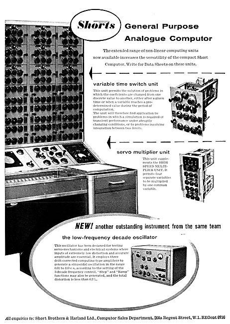 Short Brothers & Harland - Analogue Computer