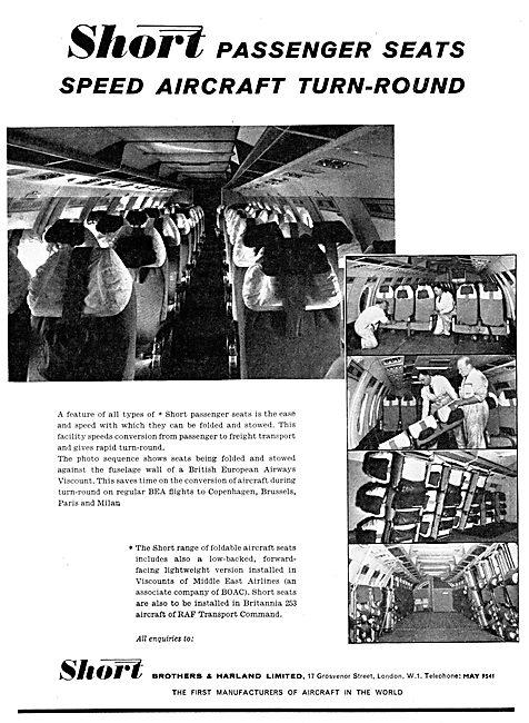 Short Brothers & Harland - Aircraft Seating