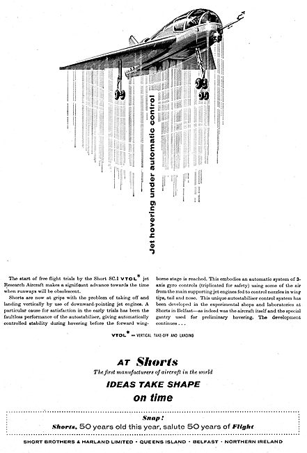 Short SC1 & VTOL Research