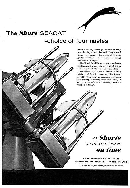 Short Seacat Ship To Air Missile