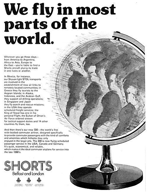 Shorts Aircraft 1977