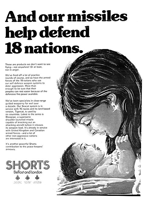 Shorts Missiles & Weapons Systems 1977