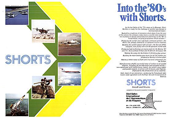 Shorts Aircraft & Missiles 1979