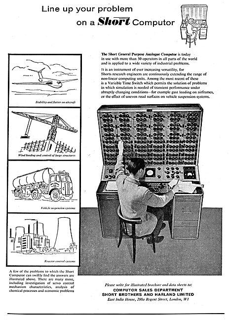Short Brothers General Purpose Analogue Computor