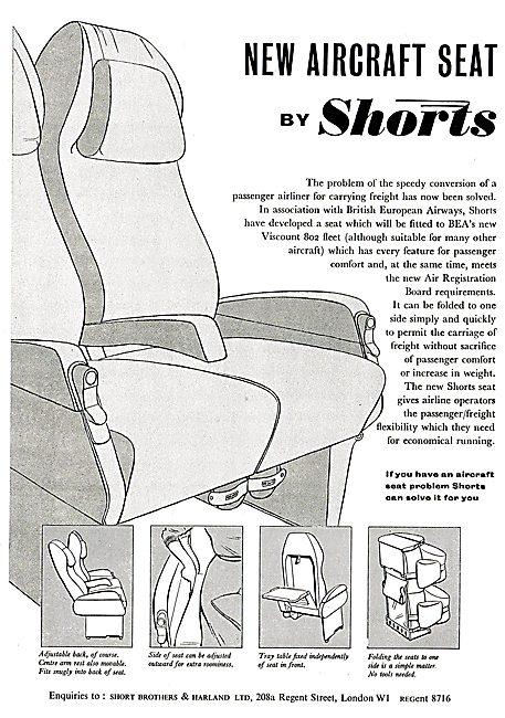 Shorts Aircraft Seats