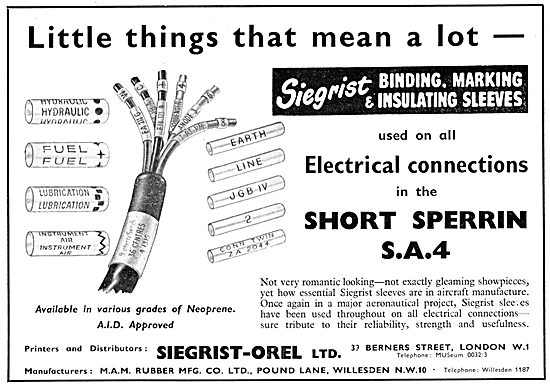 Siegrist-Orel Wire & Cable Sleeving & Marking Tools.