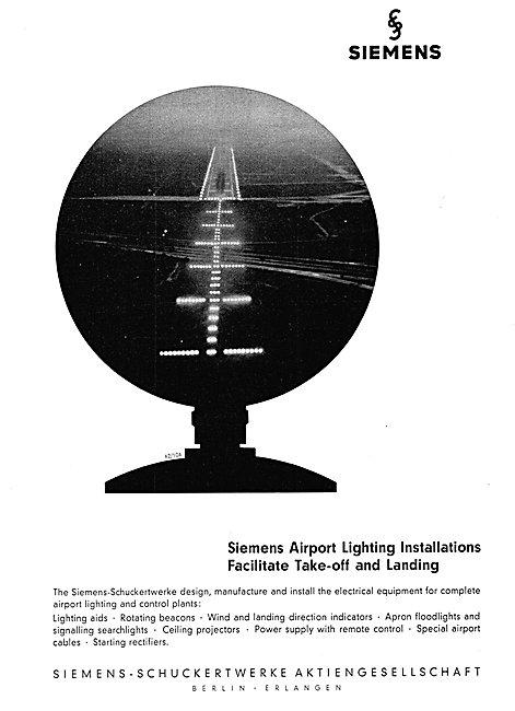 Siemens-Schuckert Airport Lighting