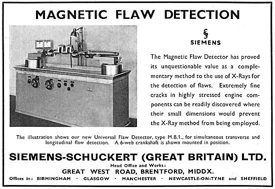 Siemens Magnetic Flaw Detectors - Siemens NDT