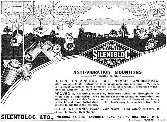 Silentbloc Anti Vibration Mountings - 1941