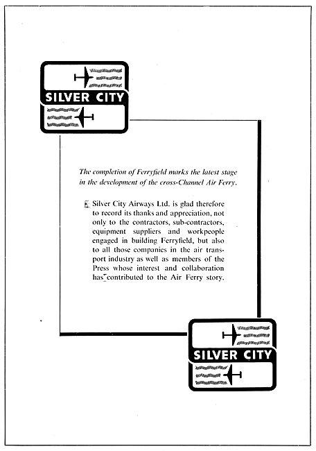 Silver City Airways - Ferryfield