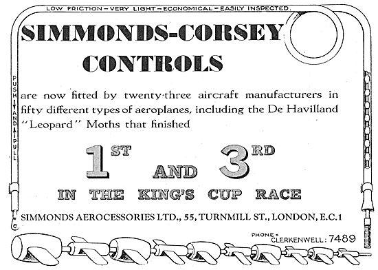 Simmonds Corsey Controls Leopard Moth