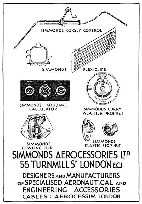 Simmonds Aerocessories - Simmonds Curry Weather Prophet