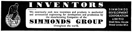 Inventors Wanted By The Simmomds Group