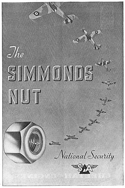 Simmonds Aerocessories : Simmonds Nut