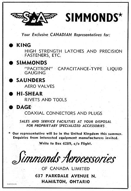 Simmonds Pacitron Capacitance-Type Liquid Gauging