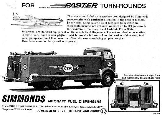 Simmonds Aircraft Refuelling Dispensers