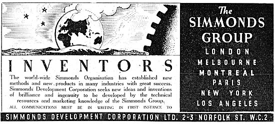 Simmonds Development Corporation. Development  For Inventors