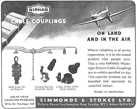 Simmonds & Stokes NIPHAN Cable Couplings