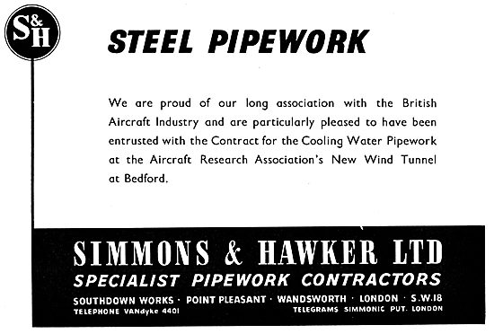 Simmons & Hawker. Specialist Industrial Pipework Contractors