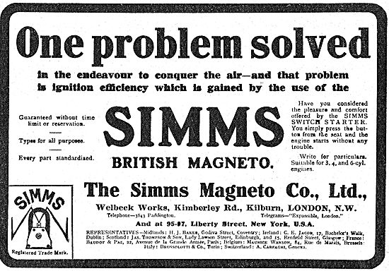 Simms Magnetos - One Problem Solved