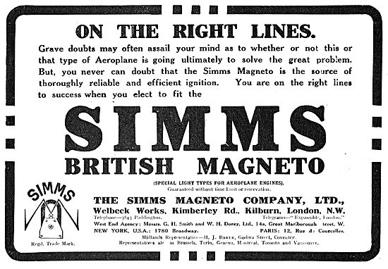 Get On The Right Lines With Simms Aero Engine Magneto