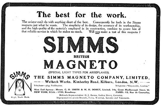 Simms Magneto's Are The Best For The Aviators Work