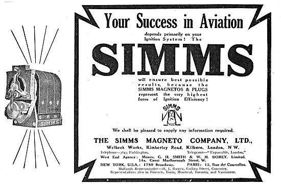 Simms Magneto's For Your Success In Aviation
