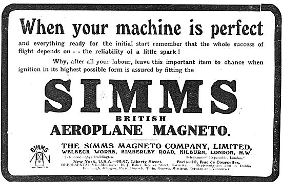 Remember The Spark With Simms Magneto's.
