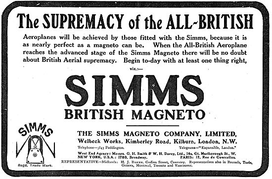 The Supremacy Of Simms Magnetos
