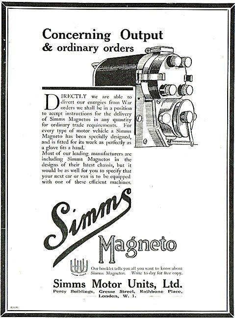 Simms Aviation Magnetos