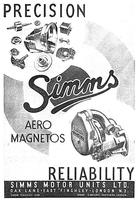 Simms Aero Magnetos