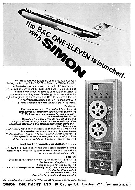 Simon Equipment  Aircraft Control Monitoring & Test Equipment