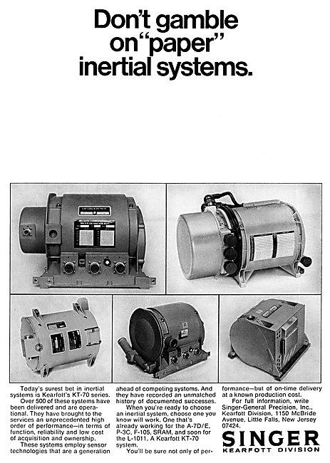 Singer Kearfott KT-70 Inertial Systems
