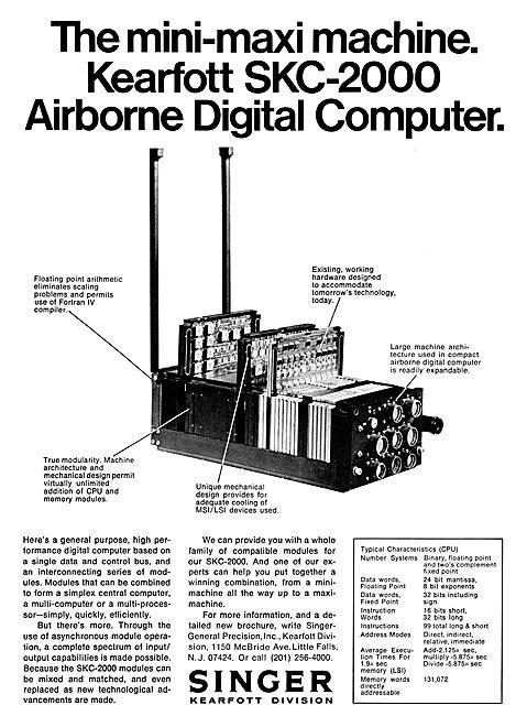 Singer Kearfott SKC-2000 Airborne Digital Computer