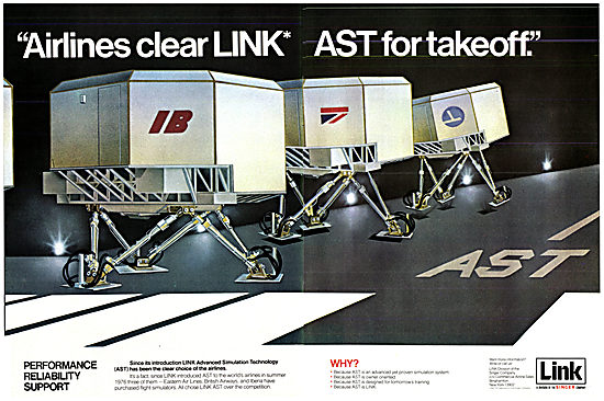 Singer Link Flight Simulators - AST 1977