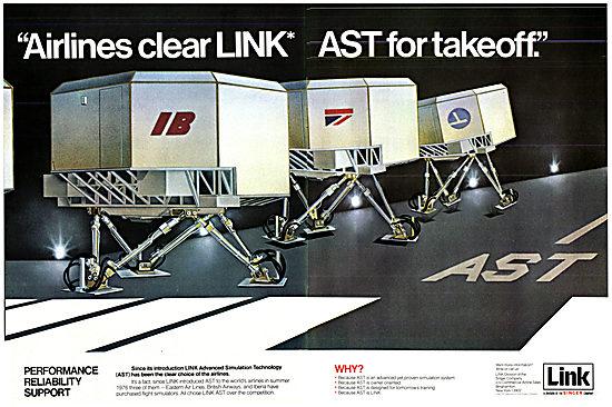 Singer Link Flight Simulators - AST 1977