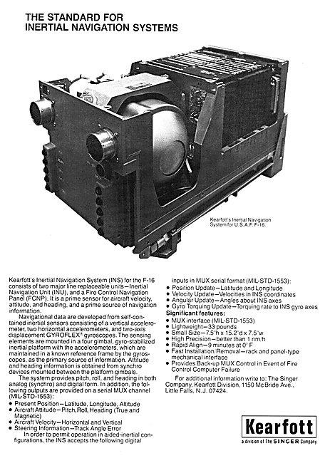 Kearfott INS Inertial Navigation System