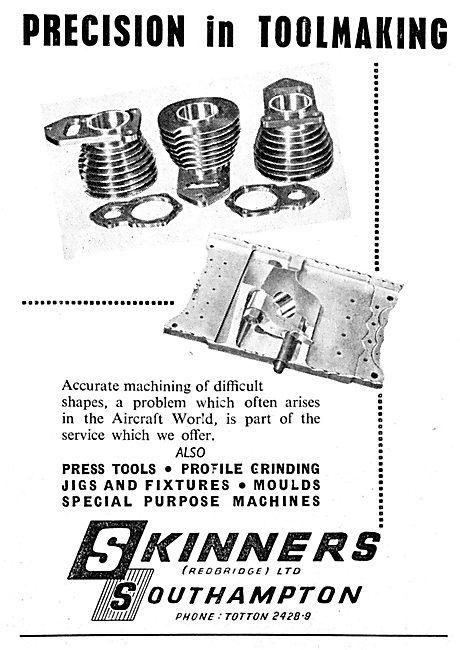 Skinners Southampton. Precision Toolmakers