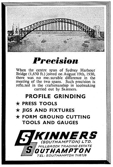 Skinners Profile Grinding, Press Tools, Jigs & Fixtures